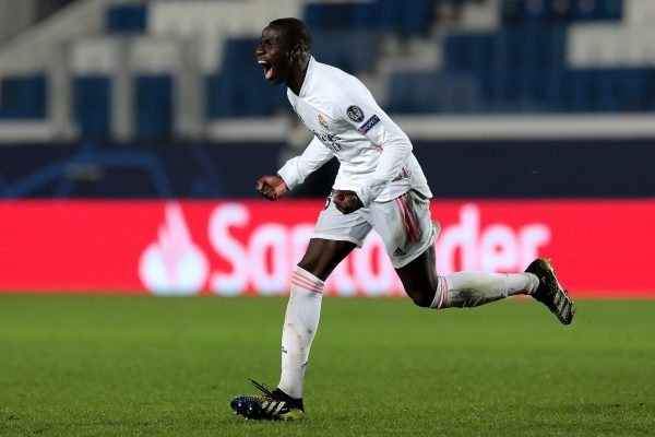 Verland Mendy is unhappy at Real Madrid